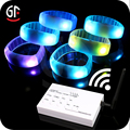 Wholesale China 2 In 1 Light Up Led Fancy Wrist Band With Remote Controller