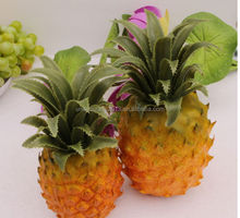hot wholesale artificial fruit pineapple home decoration/polyurethane decoration material fake pineapple/weding decoration