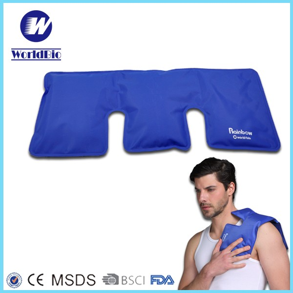 Pain Relief Ice Pack with Wrap for Hot & Cold Therapy