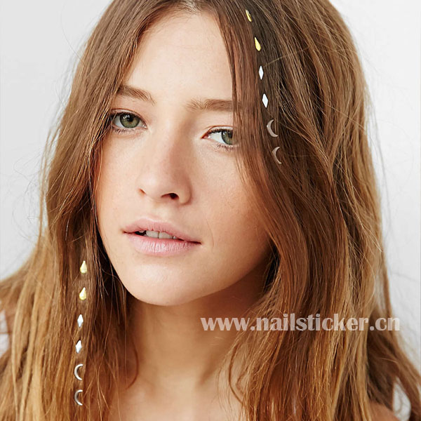 Fashion Charmsies little crystal iron-in hair charms hair accessories iron-on hair jewel supplier