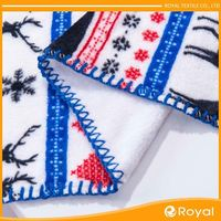 100% Polyester Anti Pilling Arctic Softbal Fleece Fabric For Pajame