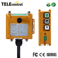 UTING F21-2D 2 keys double speed push button electric hoist telecontrol wireless radio motor remote control switch