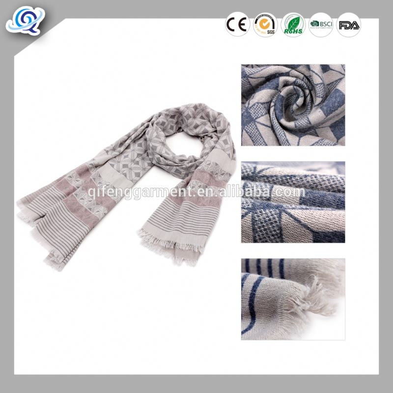 Wholesale new arrival color stitching fashionable Viscose material women's big plaid shawl warm scarf