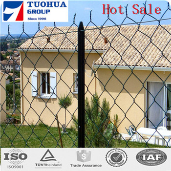 Australian market high quality galvanized temporary fence chain link fences