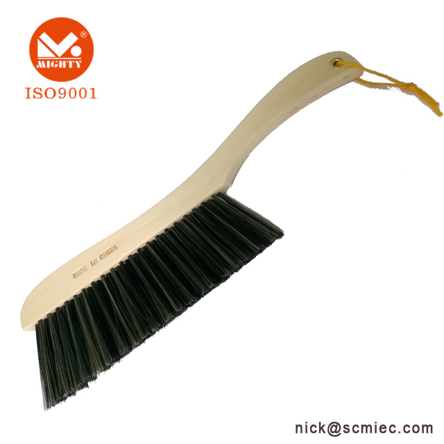 Imitated Bristle Dust Cleaning Brush With Beech Wood Handle