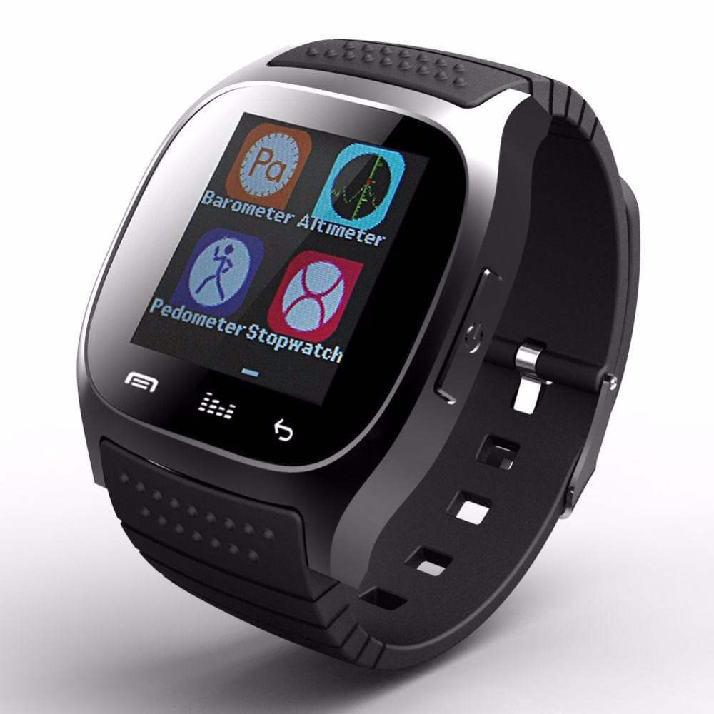 Hot Toys for Christmas 2017 Cheapest M26 Mobile Bluetooth Smart Wrist Watch Phone