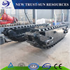 Water Area Amphibious Excavator Undercarriage For