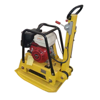 Strong power concrete vibrating plate compactor for sale