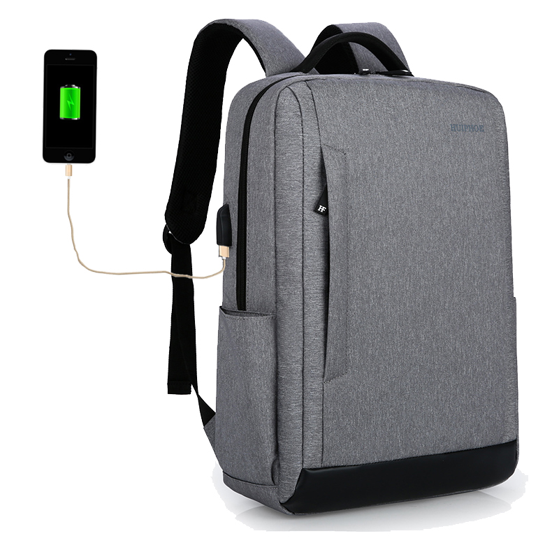 Cathylin USB Charging Men's Backpack Large Capacity Multifunction Business Waterproof Resistant Anti Laptop Computer <strong>Bags</strong>