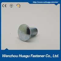 cold heading zinc plated fastener carriage bolt