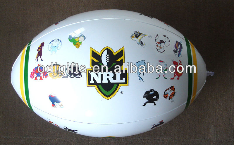 inflatable water football