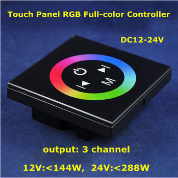 New Arrive Touch Panel Full-color RGB LED Controller