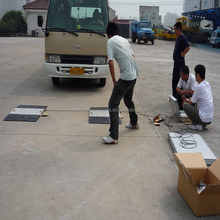 Dynamic Portable Moveable Truck Wheels Axle Load Scale Truck Weighing Scale for Sale