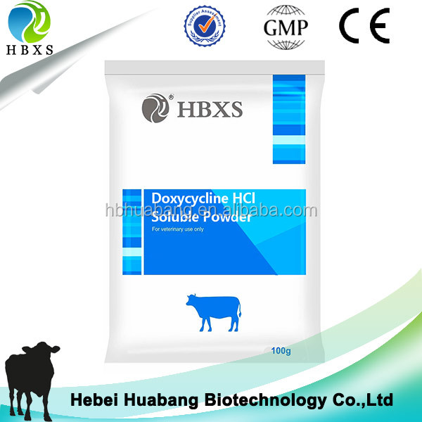 Doxycycline hydrochloride soluble powder For Respiratory Disease
