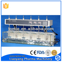 Dissolution Tester for test the tablet or capsule which dissolution speed and degree in the stipulated solvent