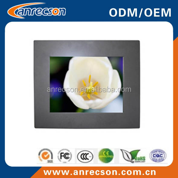 "mini pc industrial, 8"" fanless touch pc with industrial AD Board"