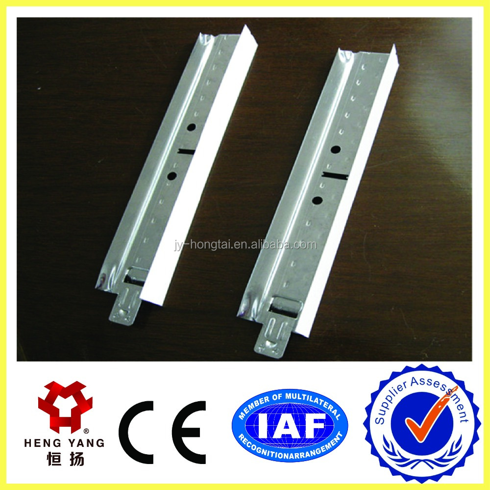 ceiling T Grid,suspended ceiling T-bar for roof decoration