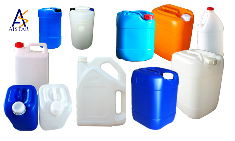 Customized Shape oil Plastic Jerry can used for liquid