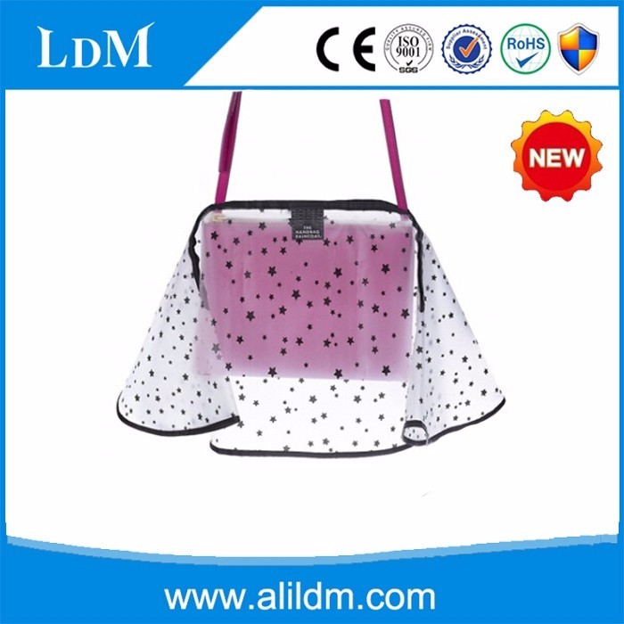 new design fashionable handbag raincoat waterproof rain cover shenzhen factory custom