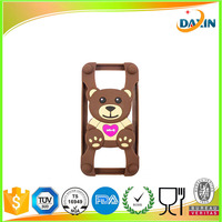 hot sell silicone cartoon phone case