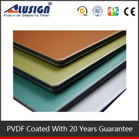 Alusign elegant and graceful metal indoor wall panel aluminum composite sheet