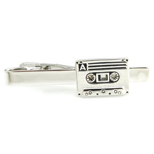 Novelty Golf Music Tape Black Paw Kangroo Animal Tie Clips