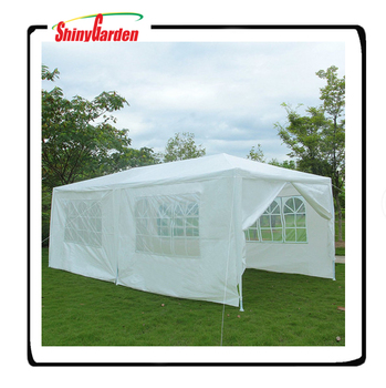 10'x20' Party Wedding Tent Outdoor Gazebo With 6 Walls