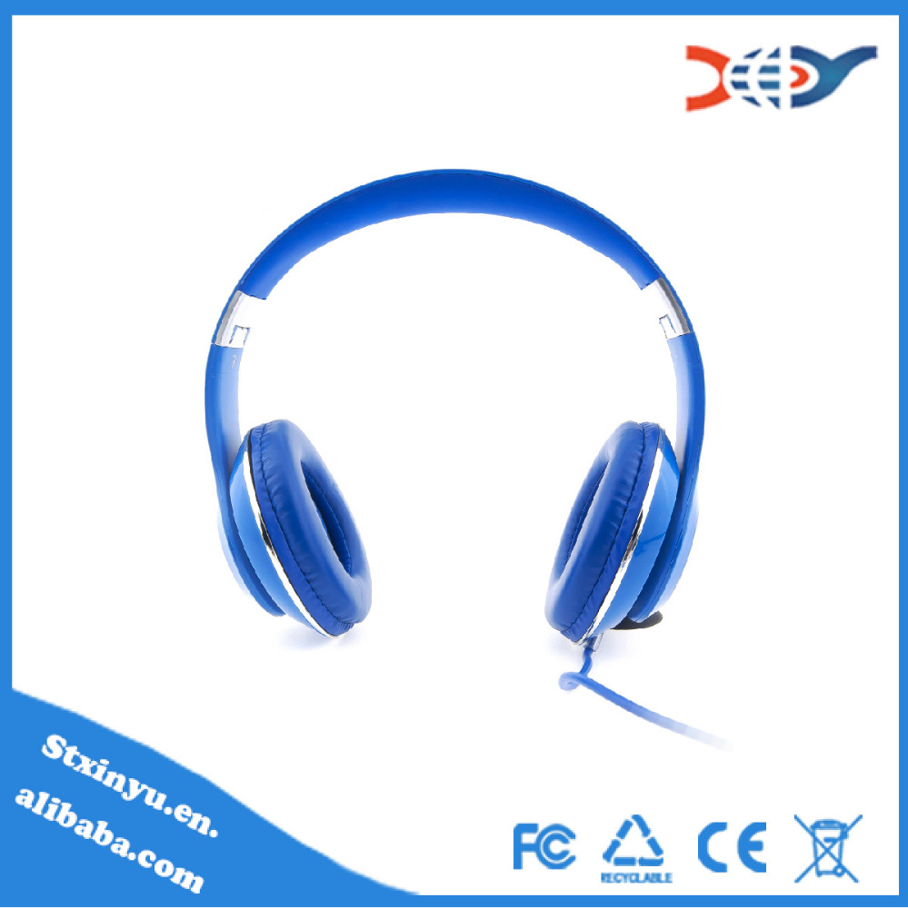 2015 wholesale foldable silent disco headphone with micophone