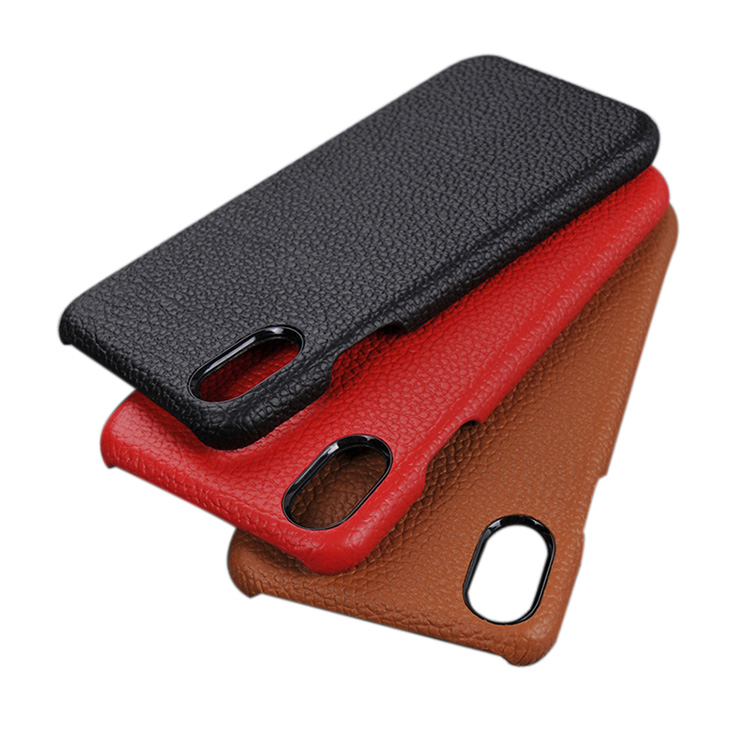 wholesale luxury mobile phone leather case for iphone 8 genuine leather