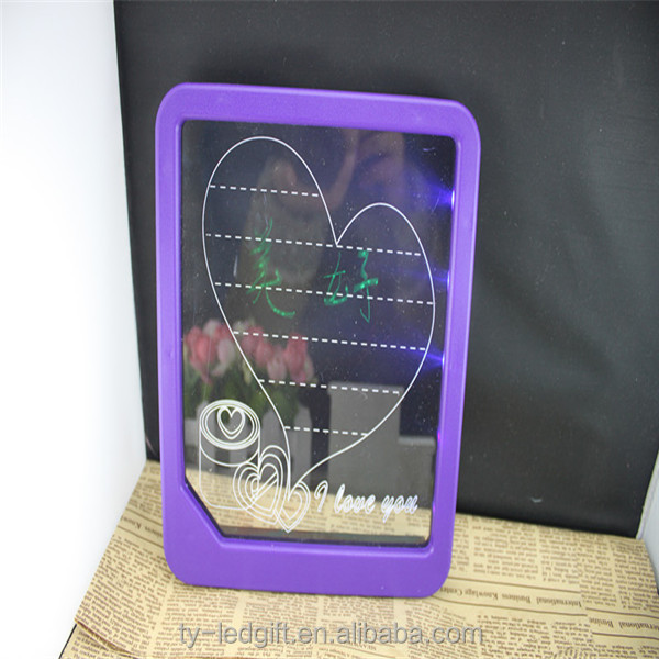 led writable sign board display writable custom led board