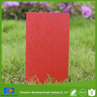 Food Grade Plastic Powder Paint For Metal With Decorative Leather Effect