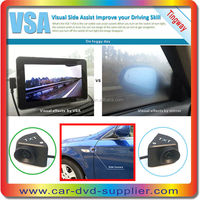Unique business ideas auto rear view camera with blind spot assist system