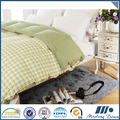 Economical custom design plaid soft goose duck duvet