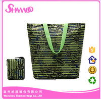 Fashional WaterProof Foldable Tote Shopper Bag