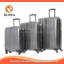 Grey Shinning Lightweight Luggage Sets