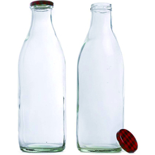 1L 1 Liter Glass Milk Bottle Custom Glass Milk Bottles 1000ml