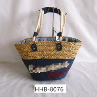 China wholesale custom size colorful seagrass basket