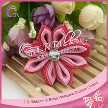 Boutique bow small cute ribbon hair bow for hair accessories