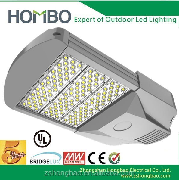 5 Years Warranty Muti-Beam Angle ul led street light with photocell