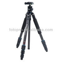 Fotopro professional portable carbon fiber tripod for camera