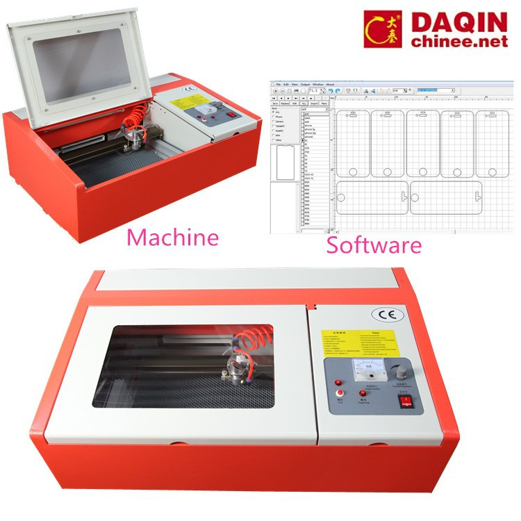 mini screen protector cutting laser machine for tempered glass