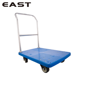 Restaurant Flatbed Trolley/Folding Pull Cart