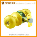 Polished brass iron or brass cylinder door lock types
