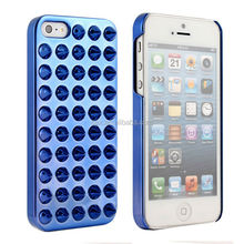 For Apple iPhone 5 5s Punk Style Jelly 3D Spike Rivet Studs Back Case