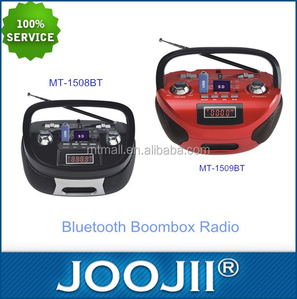 Best selling multi band radio receivers,portable boombox bluetooth radio
