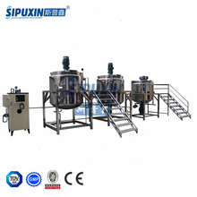 Guangzhou Sipuxin mayonnaise production line, mayonnaise machine