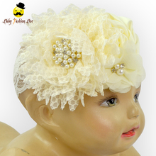 Boutique Infant And Toddler Shabby Rose Messy Hair Accessories Photo Props Flower Headband