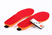 Remote Control Battery Heat Insole as Electric Shoe Warmer