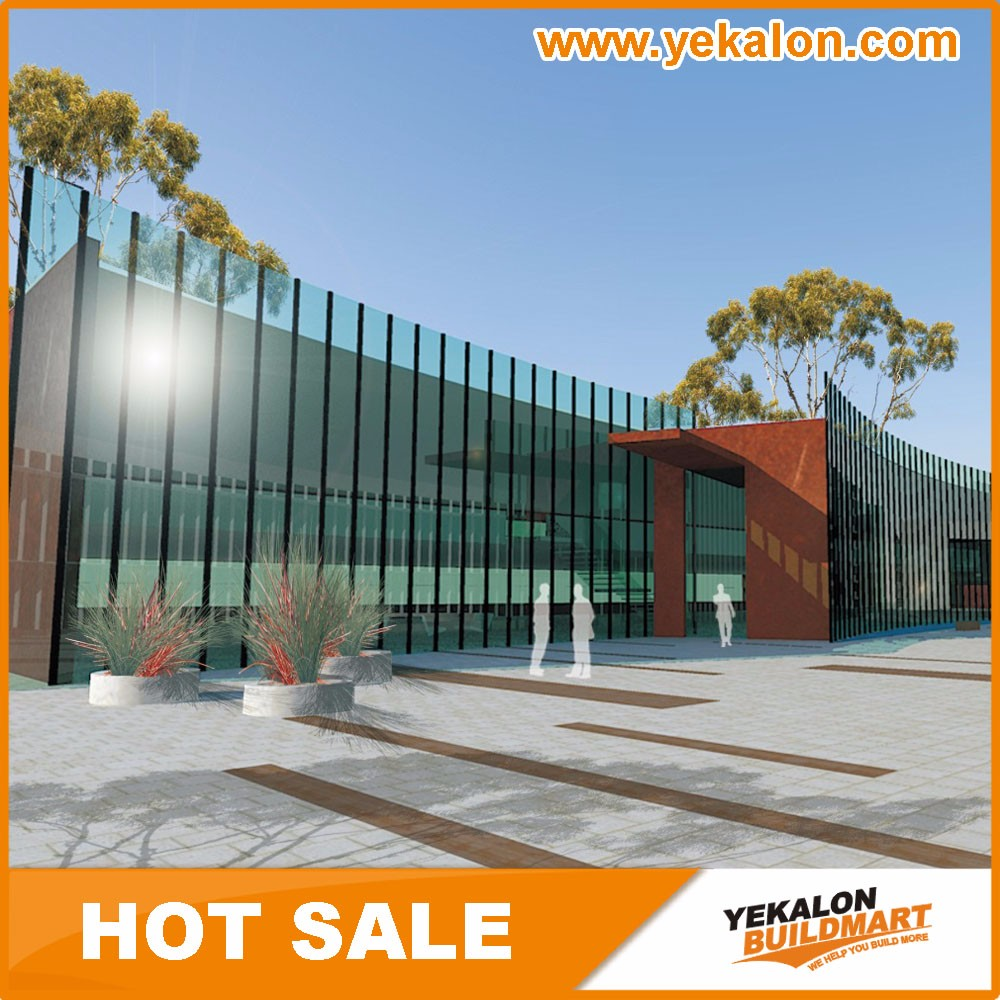 Wholesale Direct Price Full Glass Curtain Wall System From China Manufacturer
