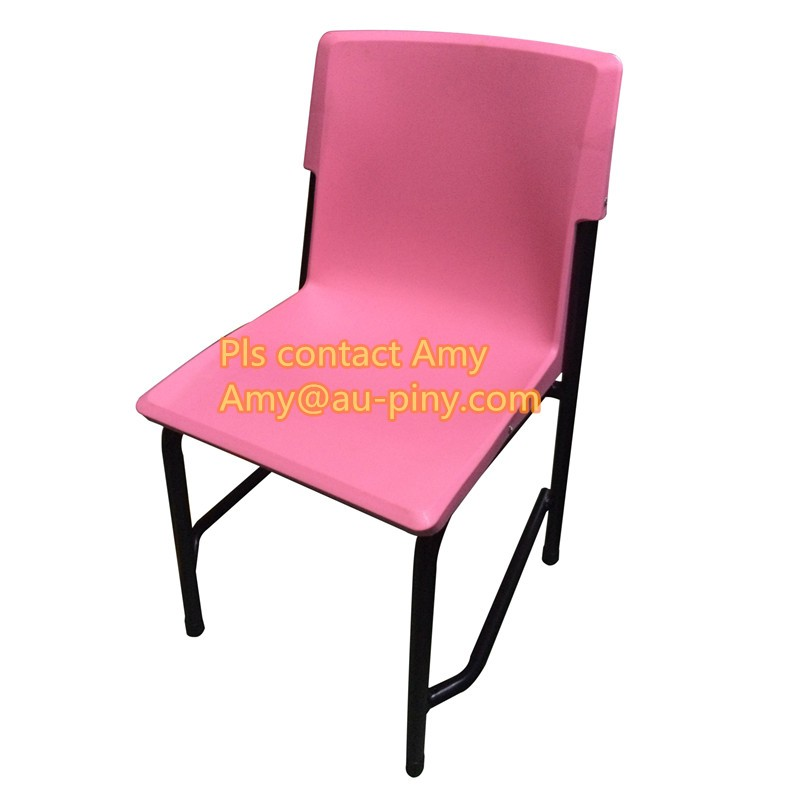 Best Quality Sri Lanka Tender School Student Furniture Desk and Chair Grade 4, plastic stackable 5 colors